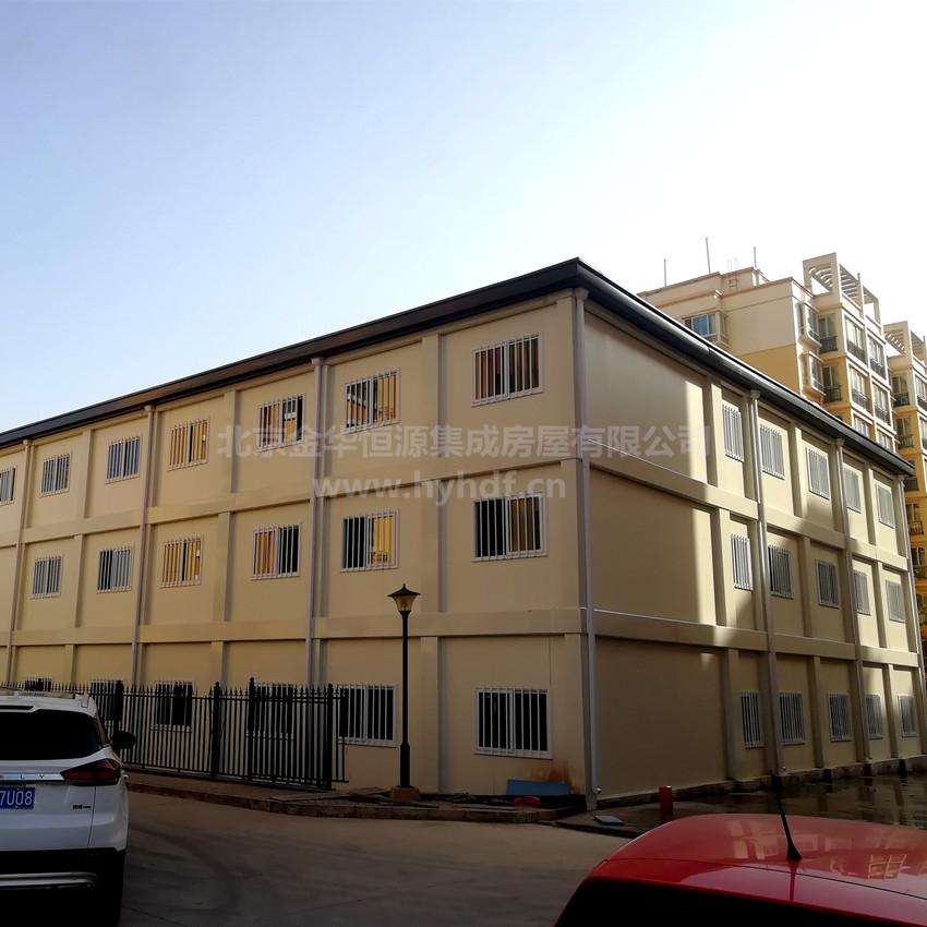 甘肅四建蘭州新樂花園箱式房辦公樓